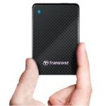 Transcend ESD400 externe SSD USB 3.0 Festplatte 128GB um 73,95€