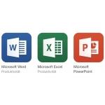 Microsoft Word, Excel und PowerPoint für iOS gratis