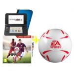 Nintendo 3DS XL + Fifa 15 + EA Sports Fußball um 166€