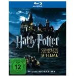 5 Tage Film Schnäppchen Aktion mit 5€ Rabatt ab 30€ Einkaufswert z.B. Harry Potter – Complete Collection (1-7.2) [Blu-ray] um 33,29€
