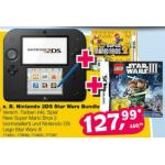 Nintendo 2DS inkl. Super Mario Bros. 2 + Lego Star Wars III um 127,99€