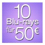 10 Blu-rays inkl. Versand um 50€ bei Amazon.de