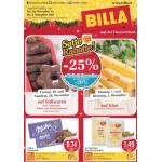 Neue Sortimentsaktionen (z.B.: -25% auf Süßwaren bei Billa)