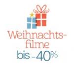 Bis zu -40% auf verschiedene Weihnachtssfilme auf Blu-Ray in 2D od. 3D und DVD