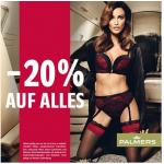 -20% auf Alles bei Palmers im Store und Onlineshop