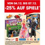 -25% auf Spiele, Puzzles und Spielware bei Libro am 5. & 6.12.2014