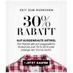 kostenloser Versand und -30% auf ausgewählte Artikel bei H&M Online