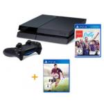 PlayStation 4 inkl. FIFA 15 und SingStar Ultimate Party + 35€ PSN Guthaben um 399€ bei Amazon.de
