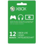 Xbox Live – Gold-Mitgliedschaft für 12 Monate um 37,97€