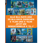 Viele Blu-rays 2D & 3D sowie Blu-ray Boxen um 13€