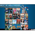 20 verschiedene DVDs inkl. Versand um je 5,99€ bei Saturn