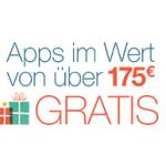 40 Apps im Wert von über 175€ gratis bei Amazon