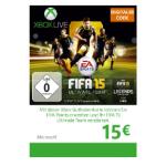 Saturn Tagesdeals – z.B.: Xbox Live Guthabenkarte 15€ um 11€