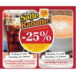 Satte Rabatte bei Billa -25% auf Mineral, Limonaden, Fruchtsäfte & Energydrinks am am 9. & 10.1.2015