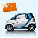 car2go Anmeldegebühr + 60 Minuten geschenkt für IKEA Family Member