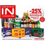 Neue Sortimentsaktionen (z.B.: -25% auf Bier bei Spar & Merkur)