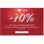 C&A: bis zu -70% Rabatt im Sale & 10% extra durch Gutschein!