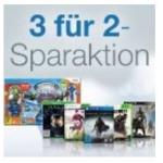 3 für 2 Games Aktion auf Amazon
