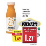 Innocent Smoothie um 0,27€ & Palmolive Duschgel mit 0,26€ Gewinn!