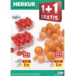 Neue Sortimentsaktionen (z.B.: -25% auf Tiefkühlprodukte bei Merkur)
