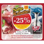 Satte Rabatte & eXtrem Billa Angebote (1+1 Gratis) bis 27. Jänner 2015