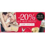 -20% auf alle Düfte & bis zu -50% Sale bei Douglas