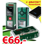 Bosch PLR15 + PMD7 Set + Powerbank um 66€ als 0815.at Weekenddeal
