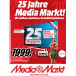 25 Jahre Media Markt Jubiläumsprospekt mit vielen guten Angeboten!