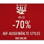 Wintersale bei Hollister – bis zu 70 % Rabatt