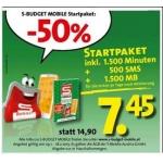 Günstige Startpakete für S-Budget Mobile und Yesss!