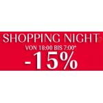 Douglas.at Shopping Night: 15% Rabatt auf alles* bis 11.2.2015 um 07:00
