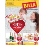 Neue Sortimentsaktionen (z.B.: -14% auf alles ab 14€ bei Billa)