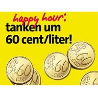 Avanti Happy-Hour: Sprit um sensationelle 60 Cent