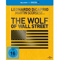 The Wolf of Wall Street (Steelbook Blu-ray Limited Edition) für 12,97€ bei Amazon