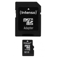 Intenso Class 10 microSDHC 32GB Speicherkarte mit Adapter um 12,50€