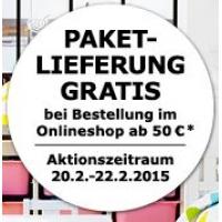 IKEA ONLINE Gratis Paket-Lieferung: 20.2. bis 22.2.2015