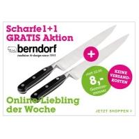 Mömax: 2 Stk Berndorf Gemüsemesser 21,6 cm um 8€ (+2,95€ Versand)
