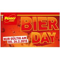 Penny Markt: Bier Day – günstige Bier-Angebote am 26.2.2015