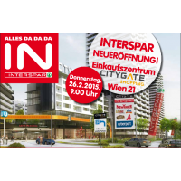 Interspar Eröffnungsangebote im Shopping Center City Gate am 26.2.2015