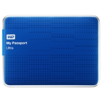 Amazon: WD My Passport Ultra externe Festplatte 1TB (2,5″, USB 3.0) in blau um 59,90 €