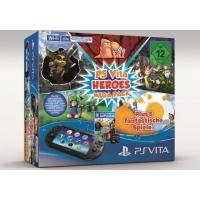 Amazon: PS Vita Slim MegaPack Heroes inkl. 5 Spielen und 8GB Speicherkarte um 124,97 €