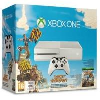 Amazon: Xbox One Sunset Overdrive Bundle in weiß um 299 €
