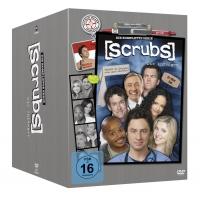 Scrubs: Die Anfänger – Die komplette Serie, Staffel 1-9 (31 Discs) bei Amazon.de für 41,99€
