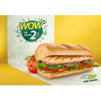 Subway: Roasted Chicken Sub um 2 €