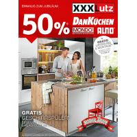 -50% auf Einbauküchen von Alno, Mondo oder DanKüchen + Geschirrspüler kostenlos + Lieferung & Montage kostenlos beim XXXLutz