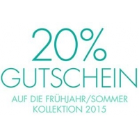 20 % Rabatt auf die aktuelle Frühjahr/Sommer-Kollektion 2015 bei Amazon