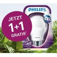 """Verbund-Aktionen zum Energiesparen – zB: """"1+1 gratis Aktion"""" mit  Philips LED-Lampen (BILLA, BIPA, MERKUR, PENNY und Sutterlüty)"""