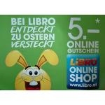 Libro Onlineshop: 5 € Gutscheincode (20 € MBW) – bis 17.04.2017