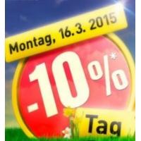 -10% bei Baumax vor Ort am 16.3. oder -15% im Onlineshop vom 14.-16.3.