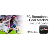El Clásico – FC Barcelona – Real Madrid live und in HD kostenlos